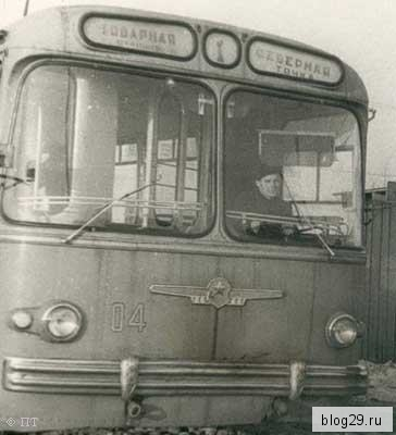 Троллейбусы Архангельск