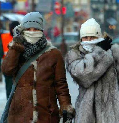 Морозы Архангельск