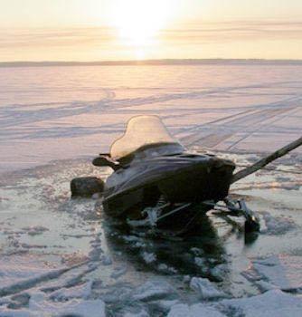 Лед рыбаки
