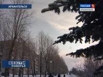 Архангельск, Погода, Потепление, Декабрь