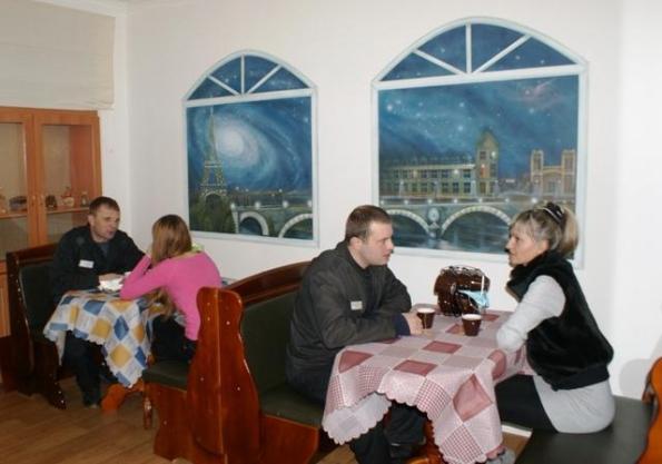 Архангельск, Колония, Кафе, Свидания