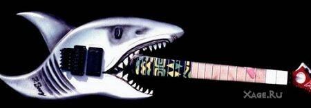 Гитара в Виде Аккулы